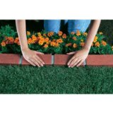 terra coota flower bed edging