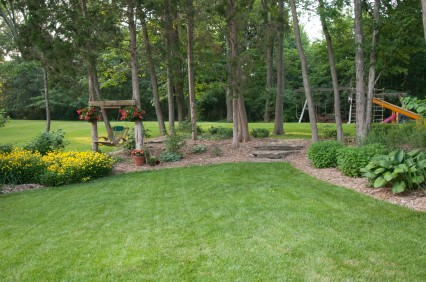 Simple low maintenance landscaping ideas quotes for Easy backyard landscaping
