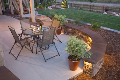 Patio Decorating Ideas on Outdoor Patio Ideas For Decorating  Landscaping  Lighting