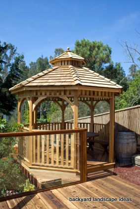 wood gazebo design